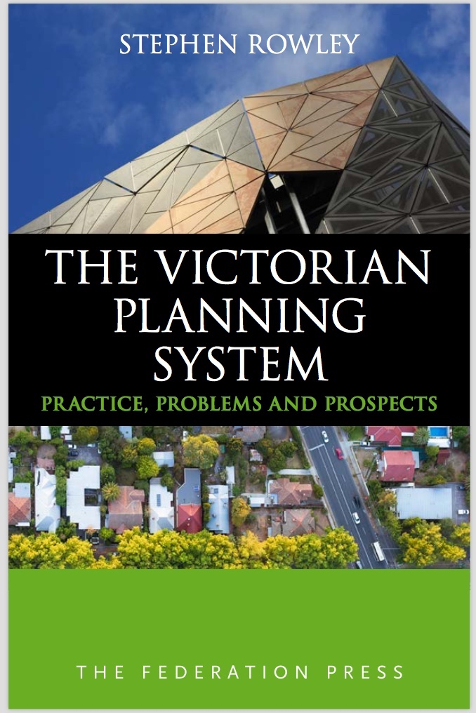 Cover - Victorian Planning System: Practice, Problems and Prospects
